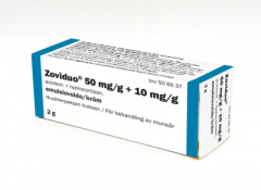 ZOVIDUO 50/10 mg/g emuls voide 2 g