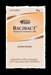 BACIBACT 250 IU/g+5 mg/g puuteri 10 g