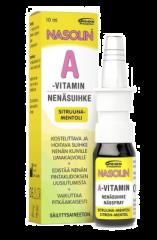 NASOLIN A-VITAMIN SITRUUNA-MENTOLI NENÄSUMUTE 10 ml