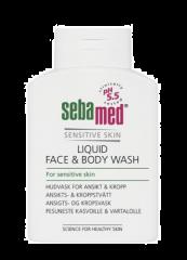SEBAMED LIQUID FACE&BODY WASH PESUNESTE  200 ML