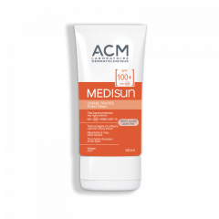 ACM Medisun SPF100+ cream kevyt sävy aurinkovoide 40 ml