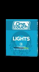 One Touch Lights ultraohuet kondomit 3 kpl