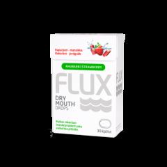 Flux Dry Mouth Raparperi-mansikka 30 imeskelytabl
